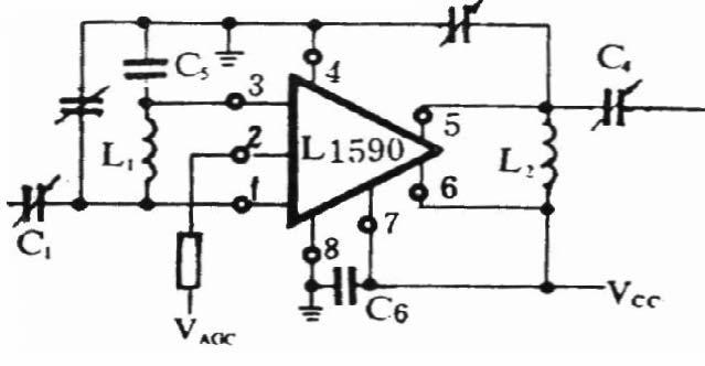 单级调谐放大器电路图