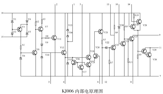 可控硅移相电路内部原理图