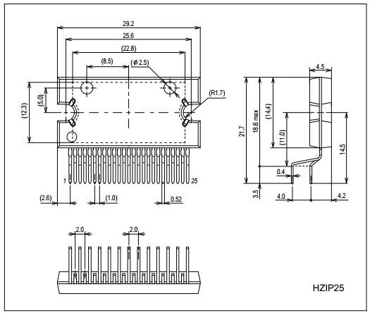 lv47009p audio power amplifier  class ab  4