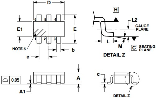 NCP125 datasheet - Current-Mode PWM Controller for Off