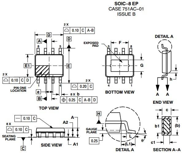 ncv8668 150 ma ldo linear voltage regulator with window