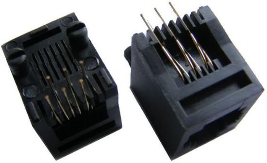 rj45 网络接口插座实物图
