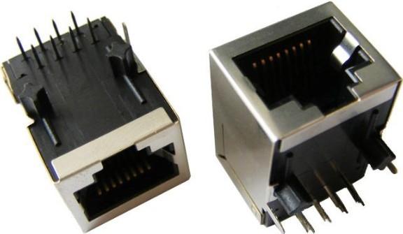 网络接口插座实物图
