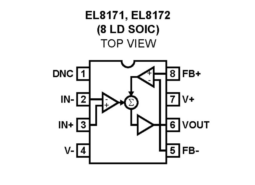 el8171  micropower  single supply  rail