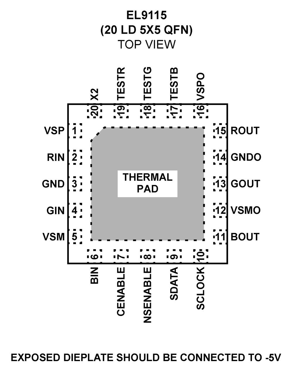 EL9115: Triple Analog Video Delay Line _ BDTIC a Leading Distributor