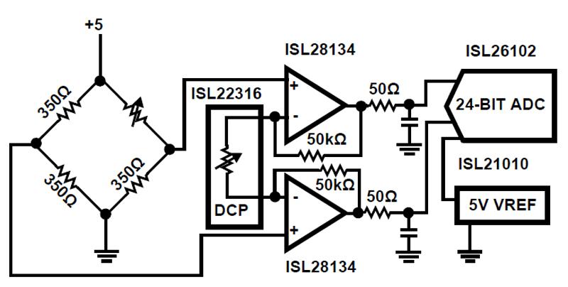 isl28134  5v ultra low noise  zero drift rail