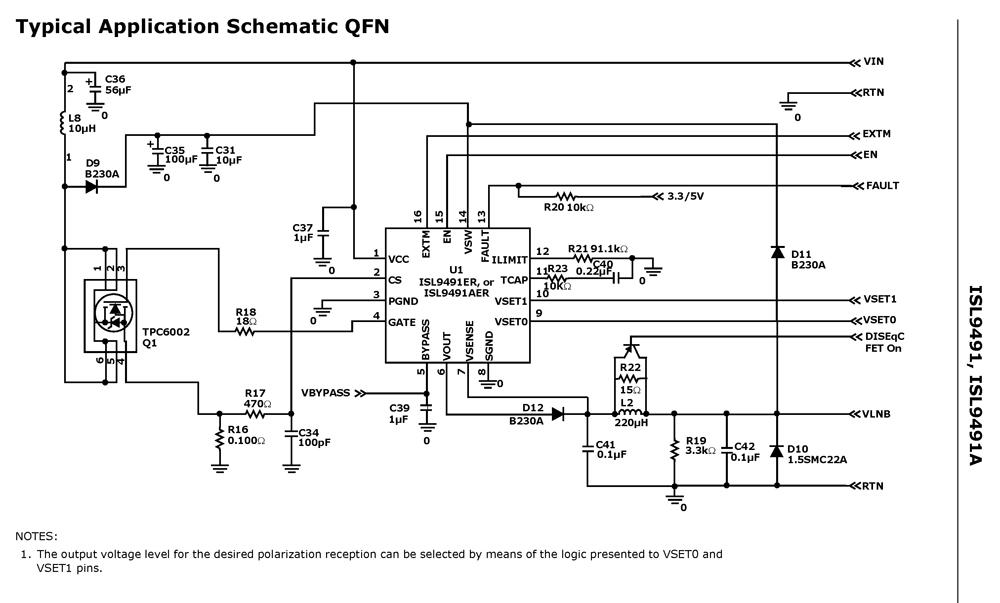 6283 Audio Amplifier Circuit - Set Top Box Circuit Diagram Datasheet