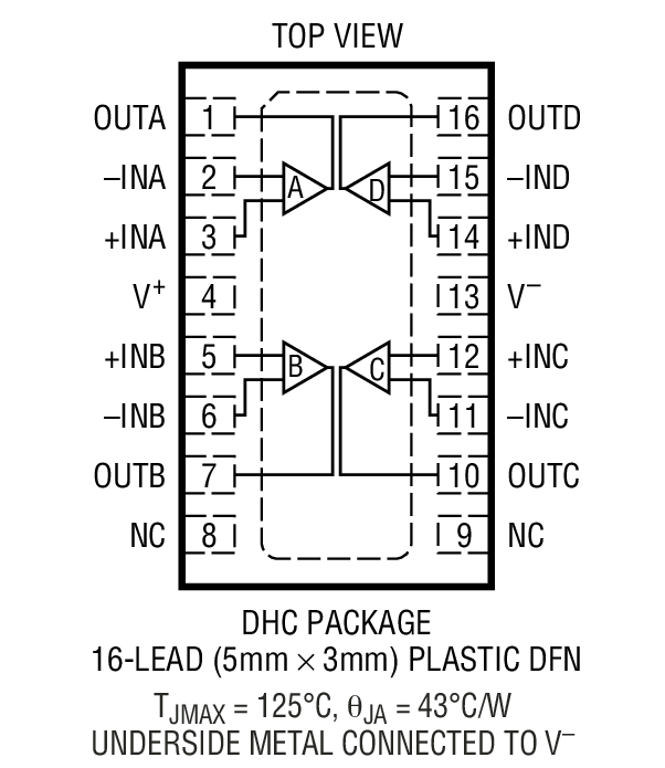 ltc6078  output amplifiers   bdtic a leading