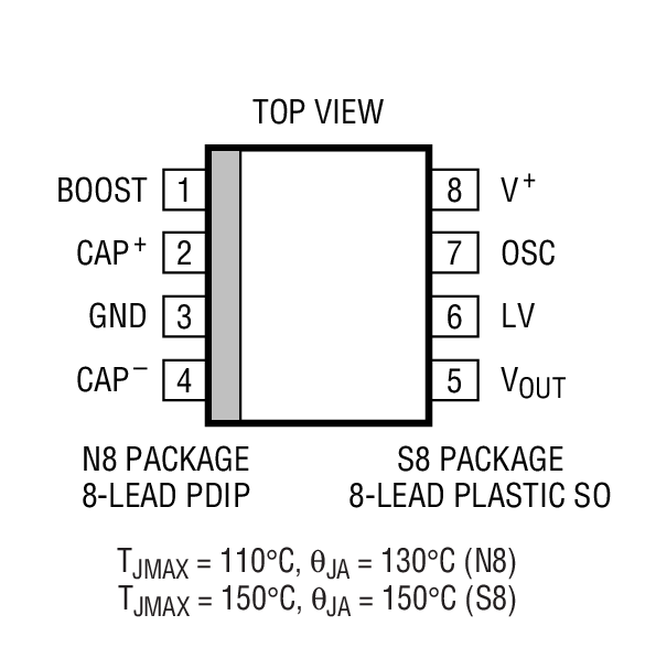 ltc1046 - inductorless 5v to
