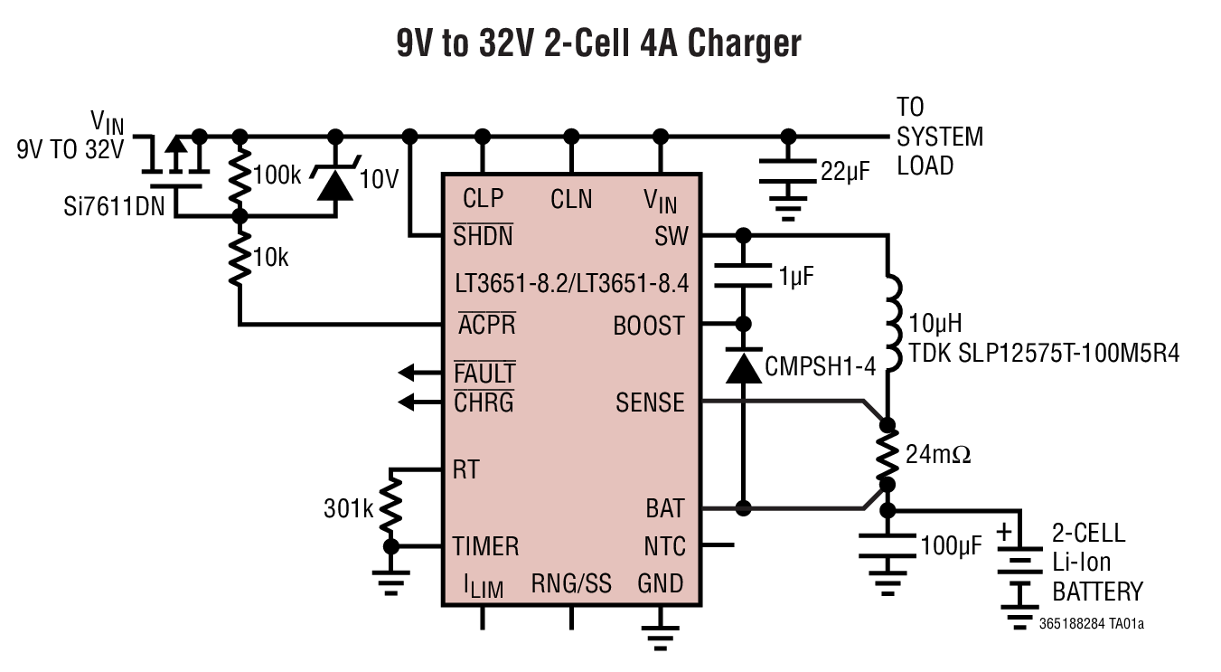 Lithium Ion Charger Circuit Diagram