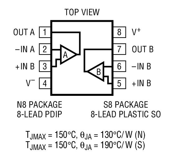 运算放大器 (运放) 低功率放大器 > lt1464  应用 电池供电型系统 光