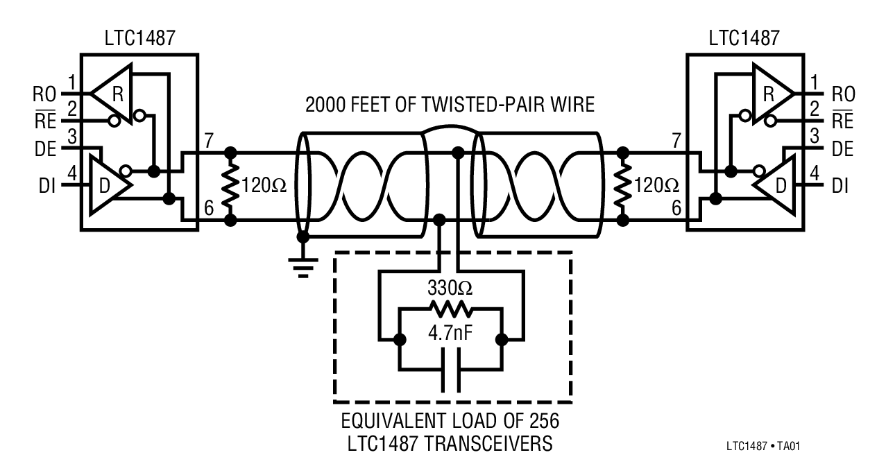 rs 485 2wire wiring diagram