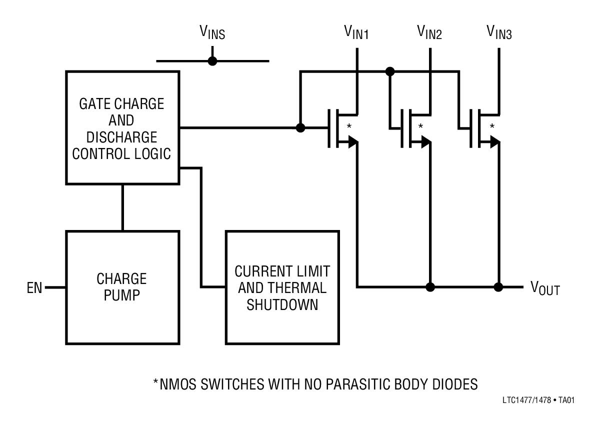 7v 至 5.5v 浪涌电流限制 超低待机电流:0.