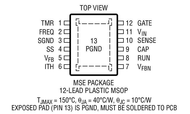 ltc7860 - 高效率开关浪涌抑制器