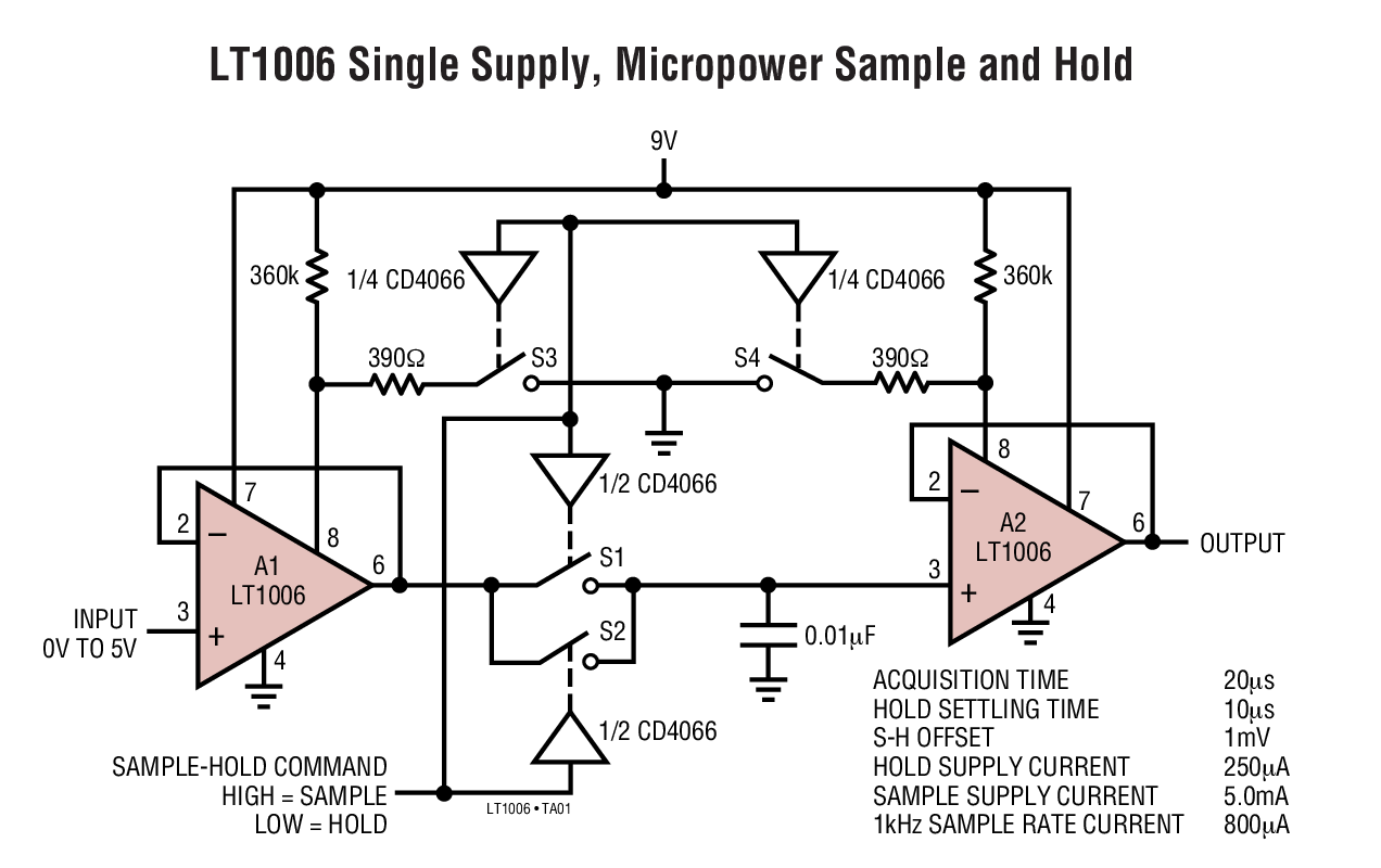 LT1006 - Precision, Single Supply Op Amp _ BDTIC a Leading