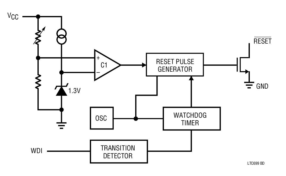 Ltc699 Microprocessor Supervisory Circuit Bdtic A Leading Watchdog Timer Applications