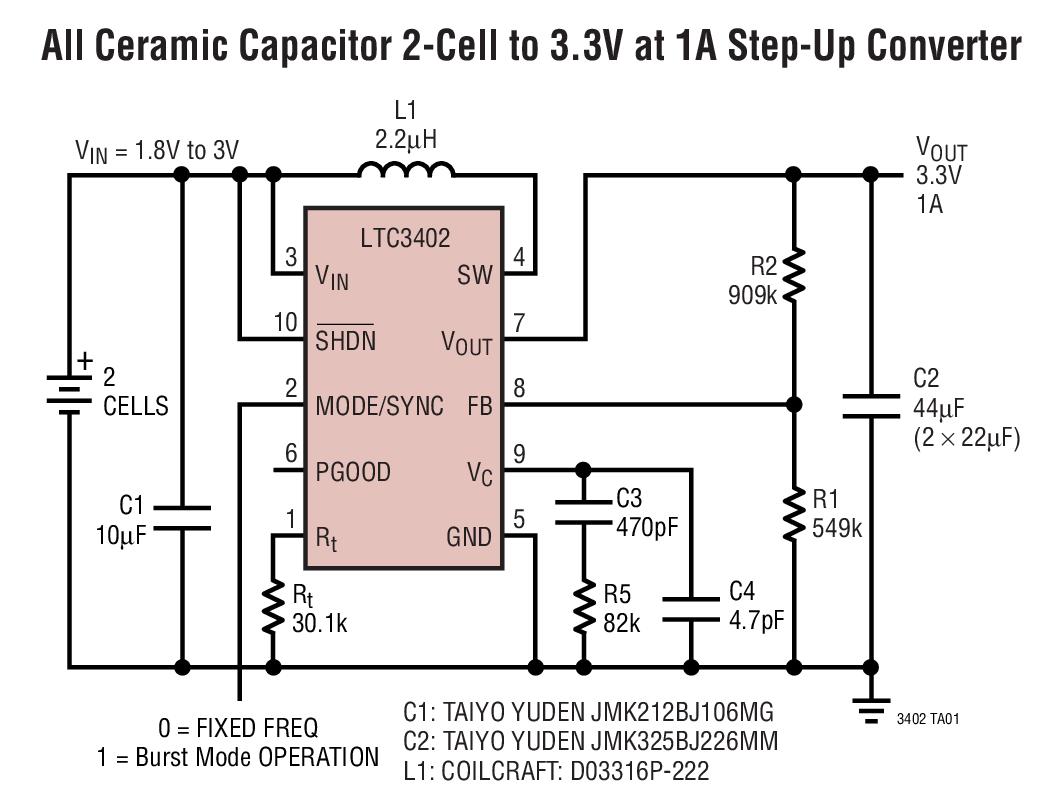 Images Ltc3400 Boost Converter Circuit Voltage Control Get Domain Pictures Getdomainvidscom Ltc3402 2a 3mhz Micropower Synchronous Bdtic A Rh Com