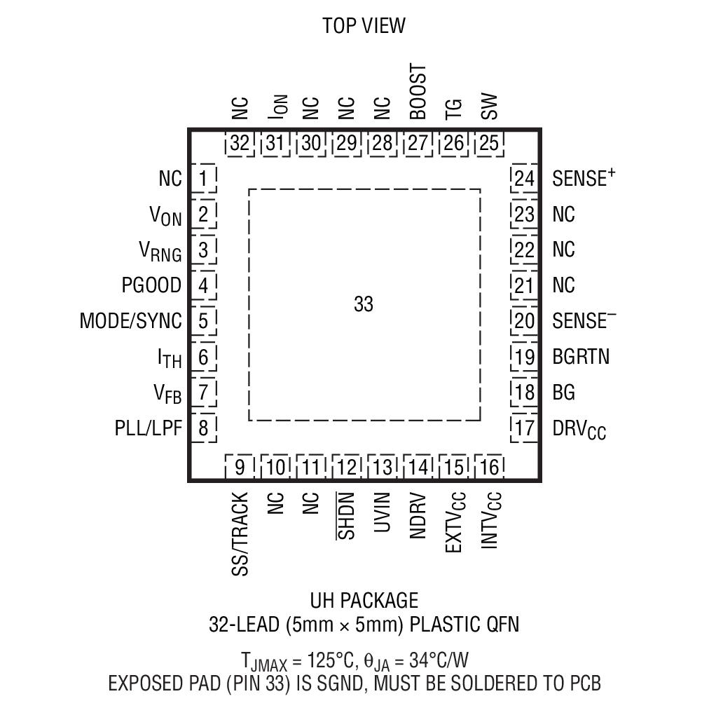 ltc3810-5 - 60v 电流模式同步开关稳压控制器