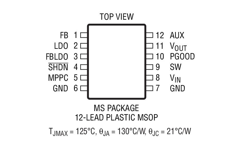 ltc3105  dc converter with maximum power
