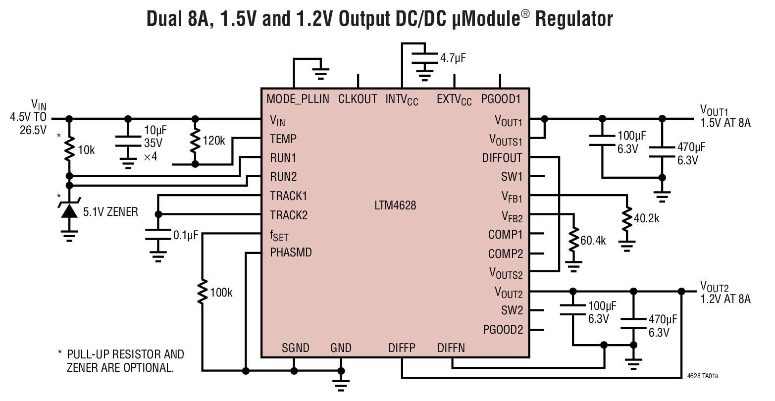典型降压dc-dc 电路图