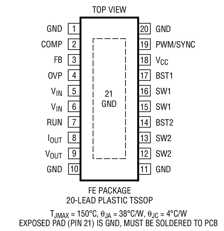 ltc3112  dc converter