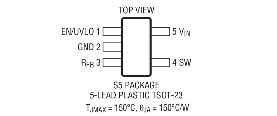 LT8300 是一款微功率、高电压、隔离型反激式转换器。通过直接从主端反激波形对隔离式输出电压进行采样,该器件无需借助第三个绕组或光隔离器来实现稳压。输出电压利用单个外部电阻器来设置。内部补偿和软起动进一步减少了外部组件的数目。边界模式操作提供了一种具卓越负载调节性能的小型磁性解决方案。低纹波突发模式操作可在轻负载条件下保持高效率,同时最大限度地抑制输出电压纹波。LT8300 将一个 260mA、150V DMOS 电源开关与所有的高电压电路和控制逻辑电路集成在一个 5 引脚 ThinSOTTM 封装之中