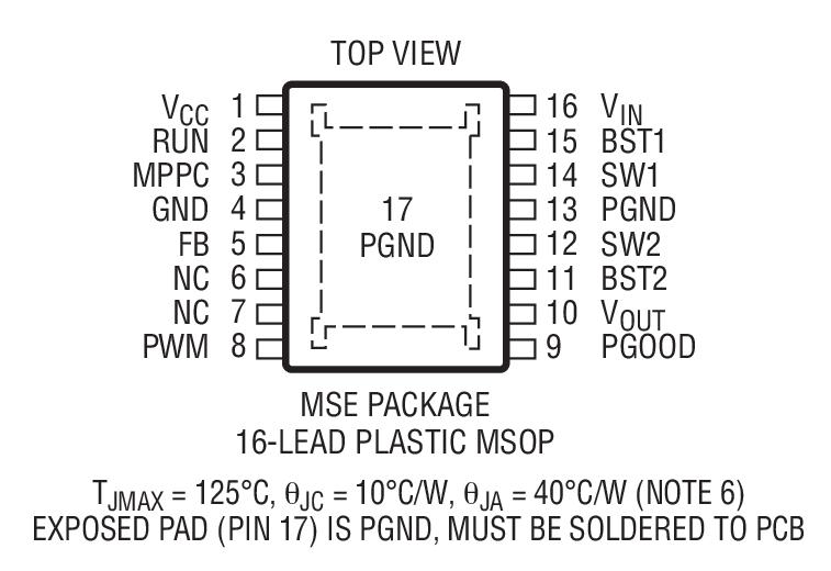 3μa 静态电流的 15v,200ma 同步降压-升压型 dc/dc 转换器