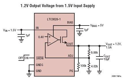 ldo产生待机电压电路