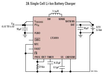 检测电阻器或隔离二极管 在电池接线端子上进行远程采样 可编程充电