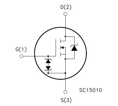 10 x STD1NK60-1 D1NK60 GD1NK60 TO251 N-CHANNEL SuperMESH Power MOSFET